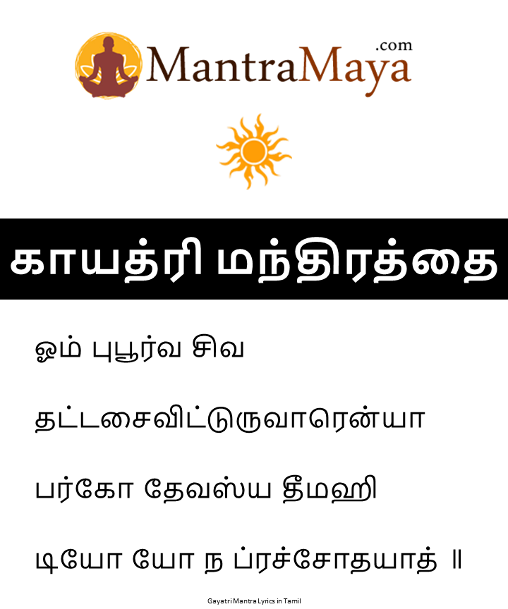 Download Gayatri Mantra PDF - Gayatri Mantra Image